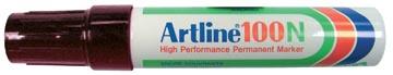 Permanent marker Artline 100 zwart