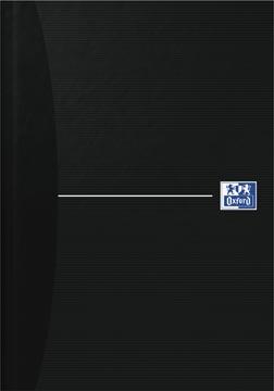 Oxford OFFICE Essentials gebonden boek, 192 bladzijden, gelijnd, ft A5, smart black
