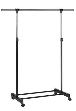 Unilux kledingrek Extend, ft 150 x 42 x 166 cm, op wieltjes