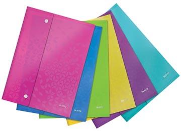 Leitz WOW projectomslag A4, uit PP, geassorteerde kleuren