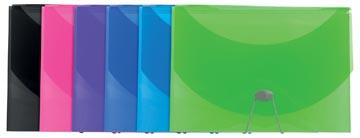 Exacompta Iderama sorteermap, uit PP, met 13 vakken, geassorteerde kleuren