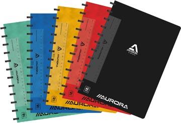 Adoc Classic schrift, ft A4, 144 bladzijden, commercieel geruit, geassorteerde kleuren