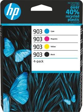 HP inktcartridge 903, 300 pagina's, OEM 6ZC72AE, 4 kleuren