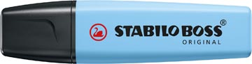 STABILO BOSS ORIGINAL Pastel markeerstift, breezy blue (lichtblauw)