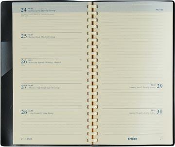Brepols Notaplan vulling, 2022