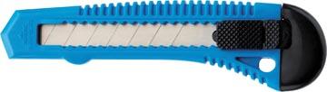 Westcott Office snijmes, kunstof houder, 18mm, blauw