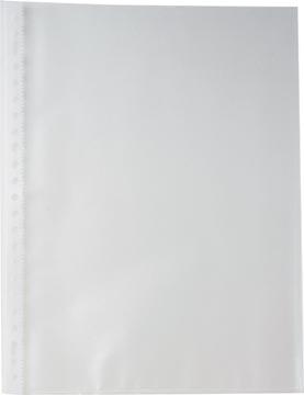 Pergamy geperforeerde showtas, A4, 23-gaatsperforatie, gekorrelde PP van 60 micron, pak van 100 stuks