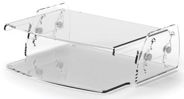 Fellowes Clarity verstelbare monitorstandaard