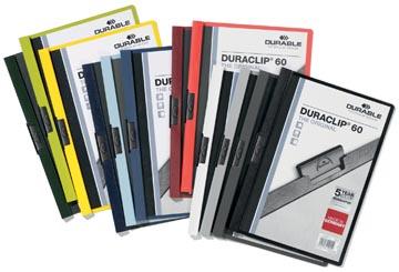 Durable Klemmap Duraclip Original 60 geassorteerde kleuren