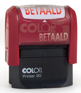 Colop formulestempel Printer tekst: BETAALD