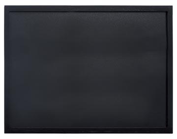 Securit krijtbord Woody zwart ft 60 x 80 cm